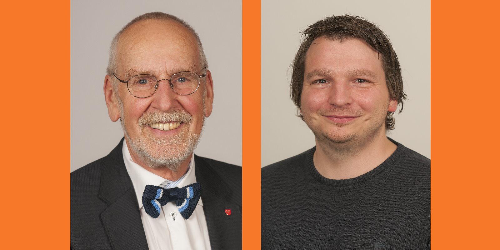 Joachim Graf und Robert Fischer von der ÖDP Regensburg
