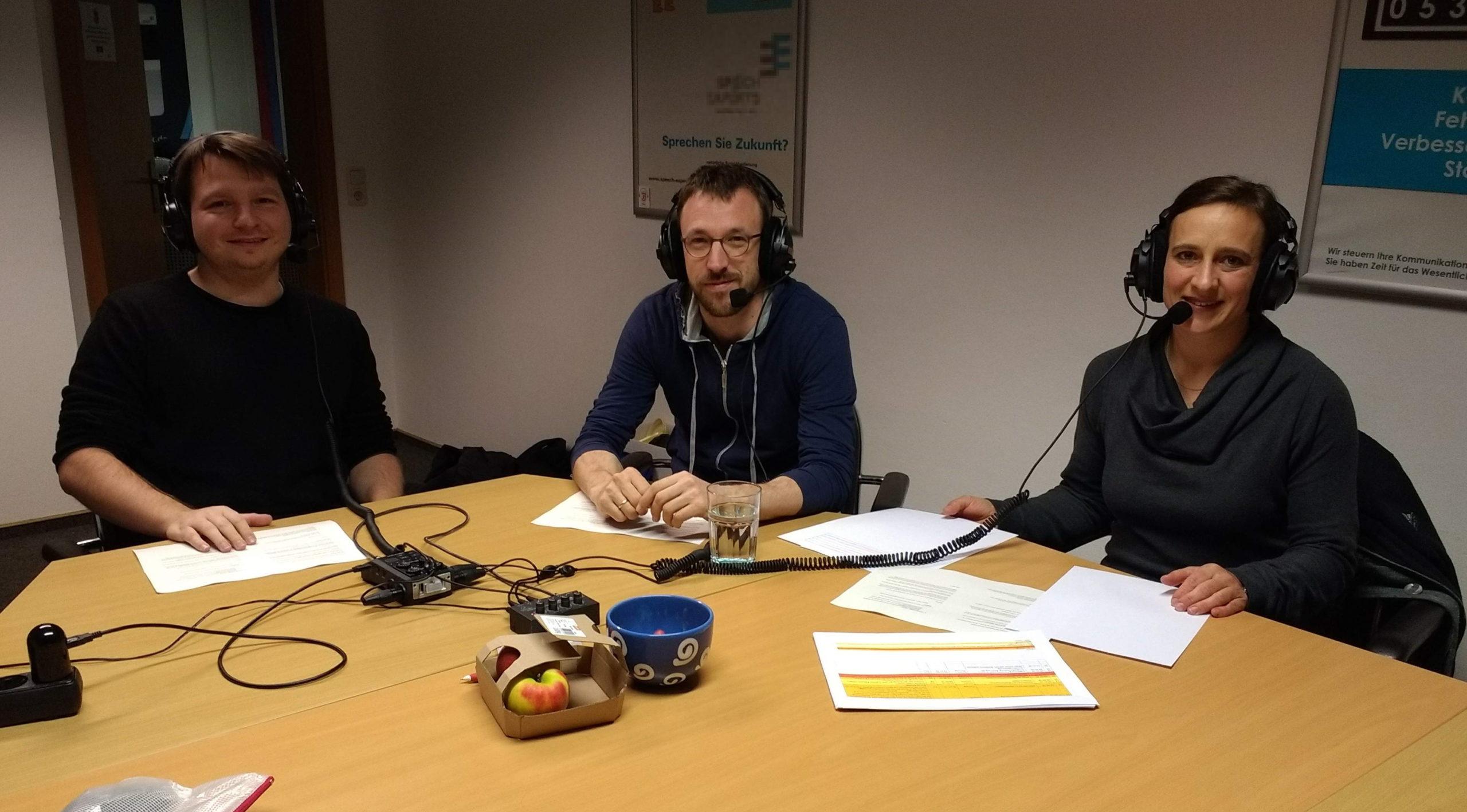 ÖDP Podcast mit Astrid, Benedikt und Robert