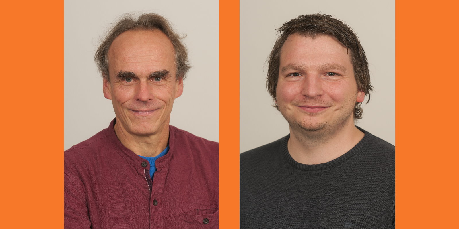 Harald Klimenta und Robert für die ÖDP Regensburg