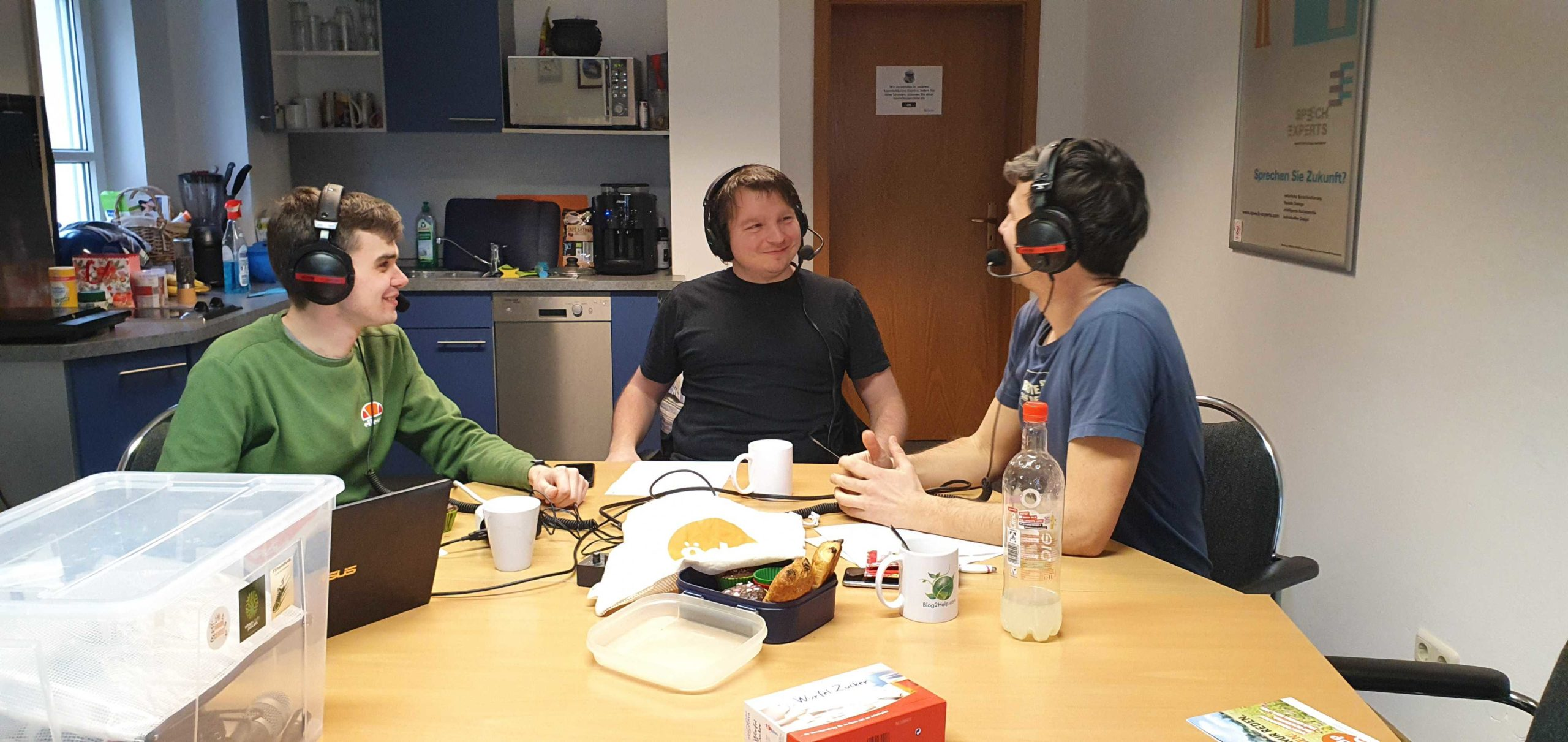 Julian, Robert und Hannes von der ÖDP Regensburg